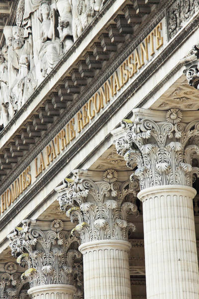 5th Photograph - Architectural Detail Of The Pantheon by William Sutton
