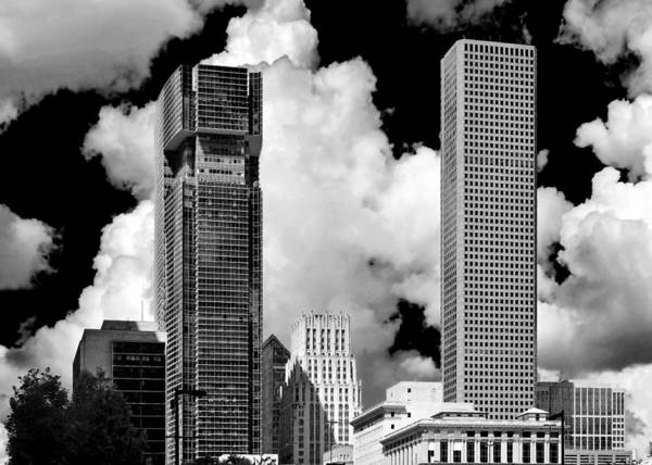 Photograph - Architectural Diversity Houston Tx by Christine Till