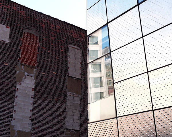 Photograph - Architectural Juxtaposition On The High Line by Rona Black