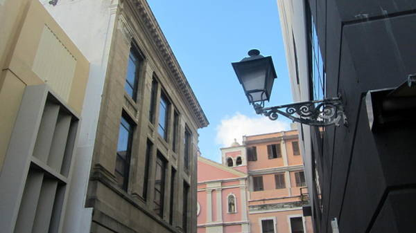 Photograph - Architecture And Lantern 1  by Anita Burgermeister