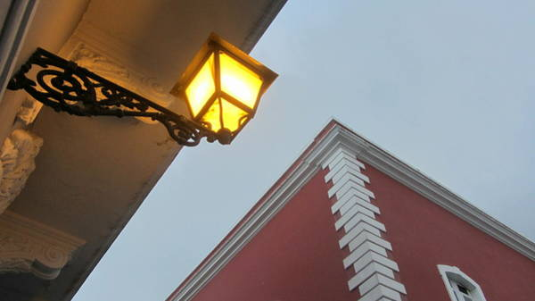 Photograph - Architecture And Lantern 3 by Anita Burgermeister