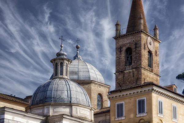 Photograph - Architecture Del Popolo by Joan Carroll