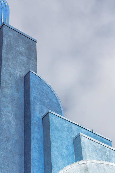 Photograph - Architecture In Blue by Susan Leonard