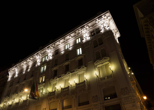 Photograph - Architecture In Rome Italy - Just Lift Your Head Day And Night by Georgia Mizuleva