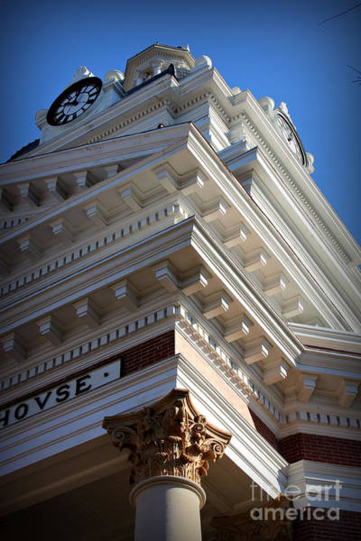 Photograph - Architecture In The Morgan County Court House by Reid Callaway