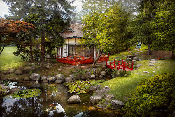 Photograph - Architecture - Japan - Tranquil Moments  by Mike Savad