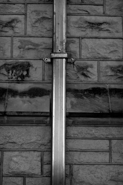 Kansas State University Photograph - Architecture Jewely Bw by Elizabeth Sullivan