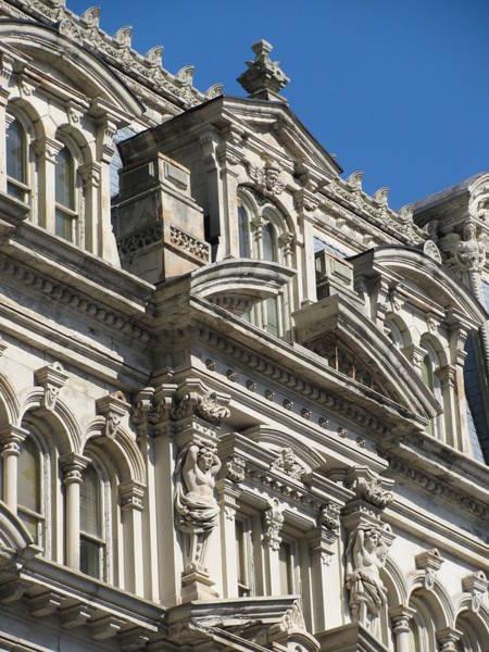 Photograph - Architecture Ornate Mitchell Close Up 1 by Anita Burgermeister