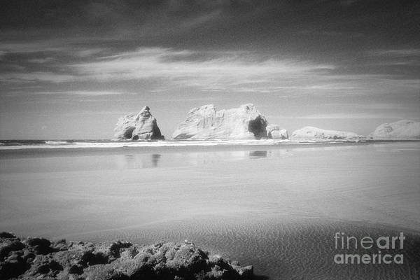 Archway Photograph - Archway Islands Wharariki Beach by Colin and Linda McKie