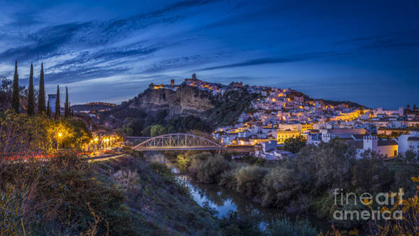 Photograph - Arcos De La Frontera Panorama Cadiz Spain by Pablo Avanzini