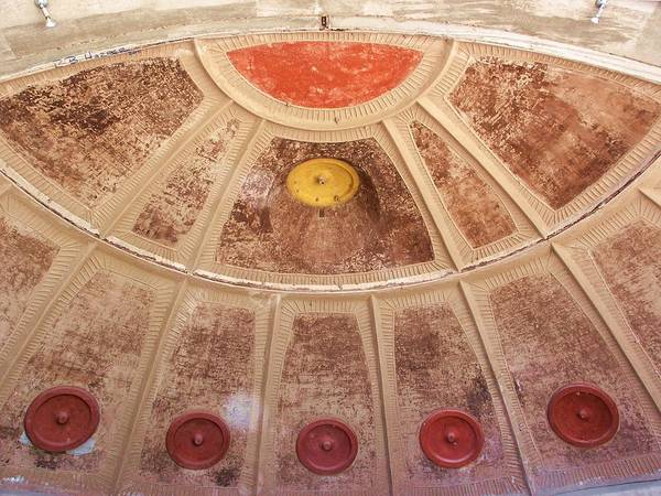 Photograph - Arcosanti Bell Casting Room by R B Harper