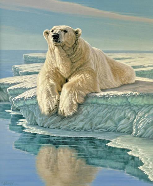 Wall Art - Painting - Arctic Heir by Paul Krapf