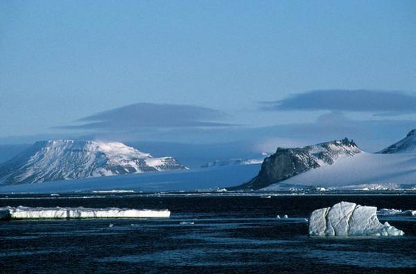 Ice Floes Wall Art - Photograph - Arctic Landscape by Patrick Landmann/science Photo Library