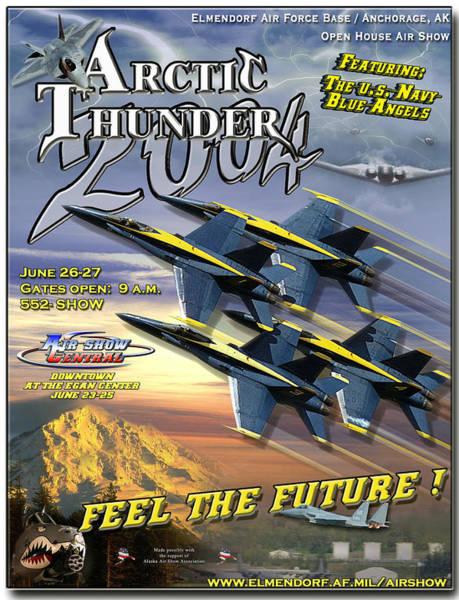 Elmendorf Photograph - Arctic Thunder Air Show 2004 by Mountain Dreams