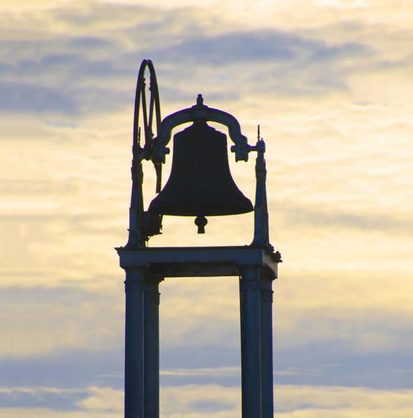 Donegal Digital Art - Ardara Church Bell by Bill Cannon