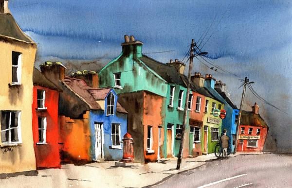 Painting - Ardgroom Village Beara Cork by Val Byrne