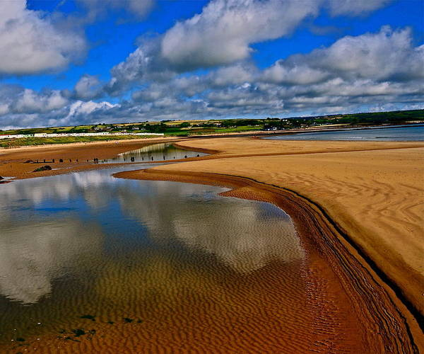 Ardmore Photograph - Ardmore Beach by Gerry O Mahony