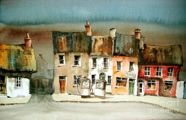 Painting - Ardmore Village Waterford by Val Byrne
