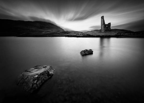 Wall Art - Photograph - Ardvreck Castle 1 by Dave Bowman