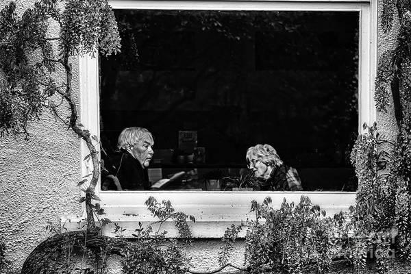Husband Photograph - Are You Listening Dear by Nigel Jones