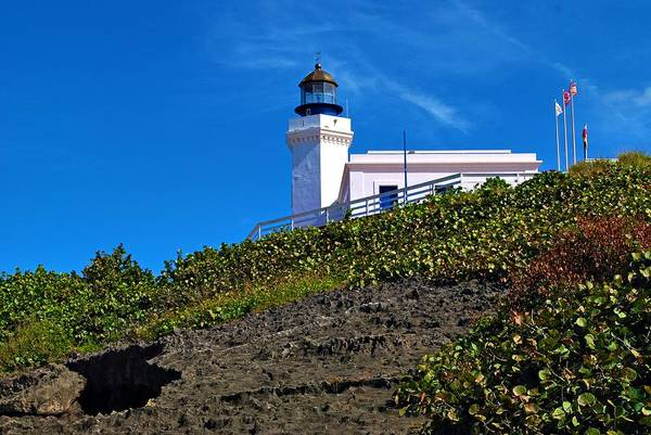 Photograph - Arecibo Lighthouse 1 by Ricardo J Ruiz de Porras