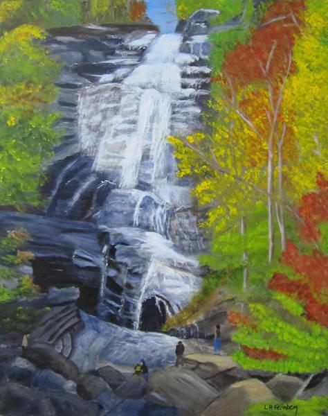Painting - Arethusa Falls by Linda Feinberg