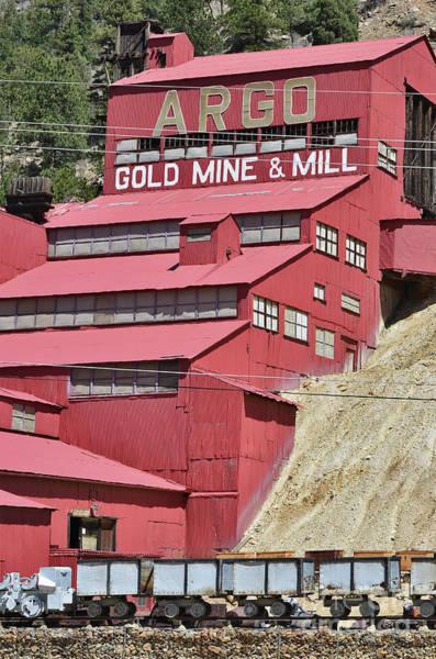 Digital Art - Argo Gold Mining by Mae Wertz