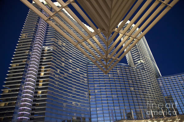 Photograph - Aria Resort And Casino by Jim West