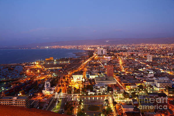 Photograph - Arica Sunset Chile by James Brunker