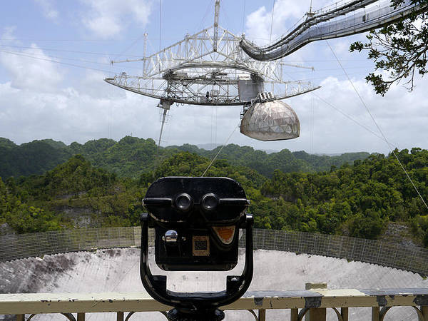 Photograph - Arecibo Observatory - Watching Us Watching Them by Richard Reeve