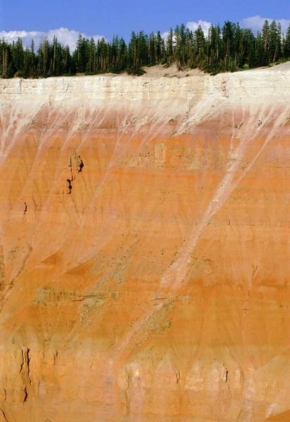 Parallels Wall Art - Photograph - Arid Erosion In Parallel Bedded Sandstones by David Parker/science Photo Library