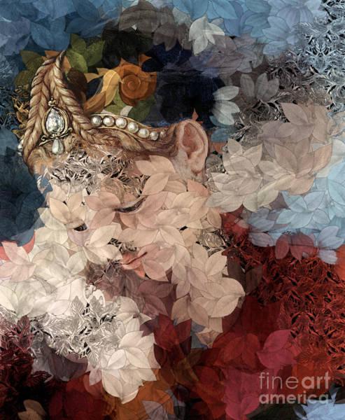 Et Digital Art - Arika - Des Femmes Et Des Fleurs by Aimelle