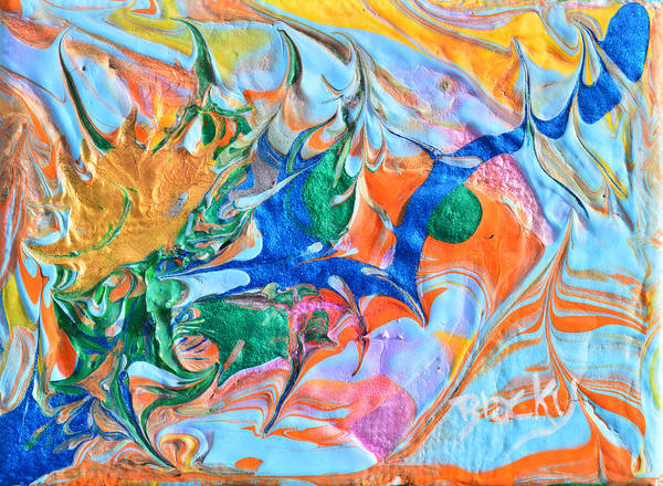 Wall Art - Painting - Arise To A New Day by Donna Blackhall