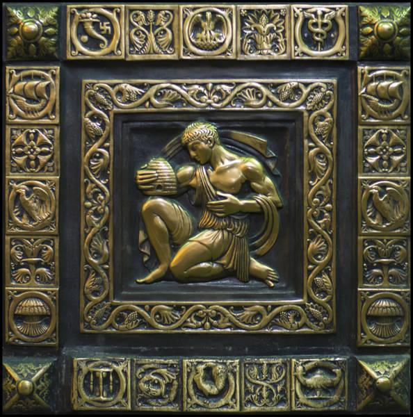 Digital Art - Aristaeus Bronze Plate by Chris Flees