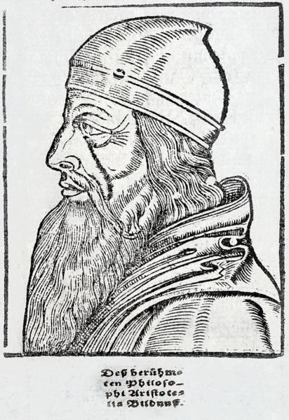 Woodcut Photograph - Aristotle by Paul D Stewart