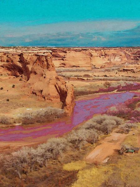 Digital Art - Arizona 2 by David Hansen