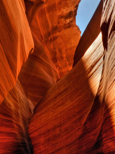 Photograph - Arizona - Antelope Canyon 010 by Lance Vaughn