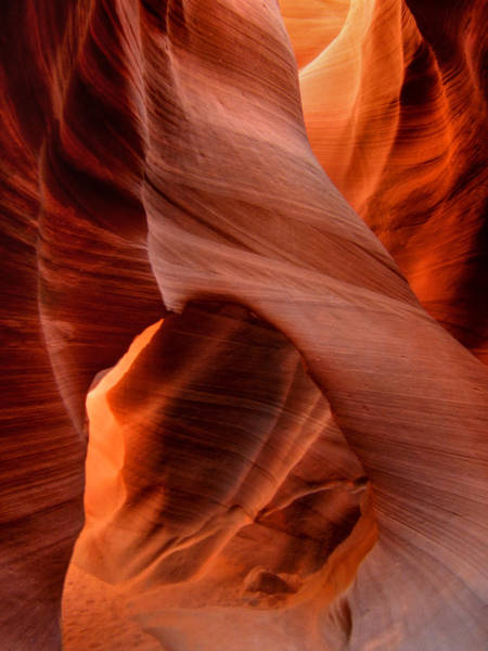 Photograph - Arizona - Antelope Canyon 014 by Lance Vaughn