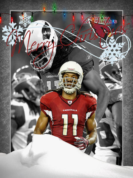 Wall Art - Photograph - Arizona Cardinals Christmas Card by Joe Hamilton