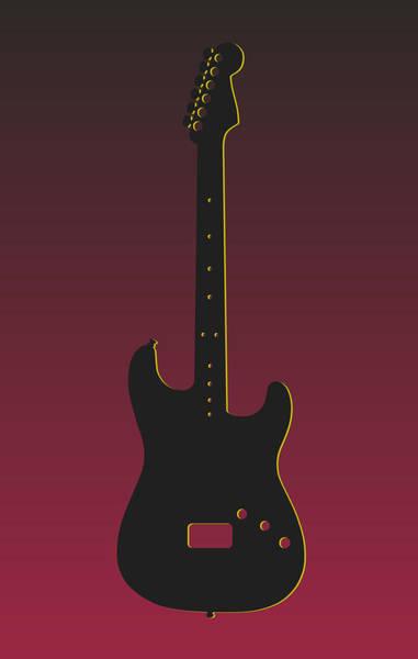 Bass Player Wall Art - Photograph - Arizona Cardinals Guitar by Joe Hamilton