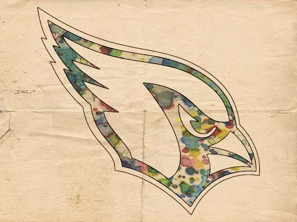 Painting - Arizona Cardinals Poster Vintage by Florian Rodarte