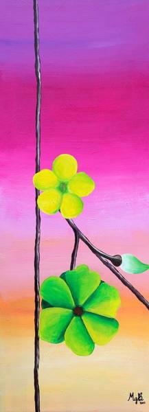 Wall Art - Painting - Arizona Lemonade by Mary Grace Bernard