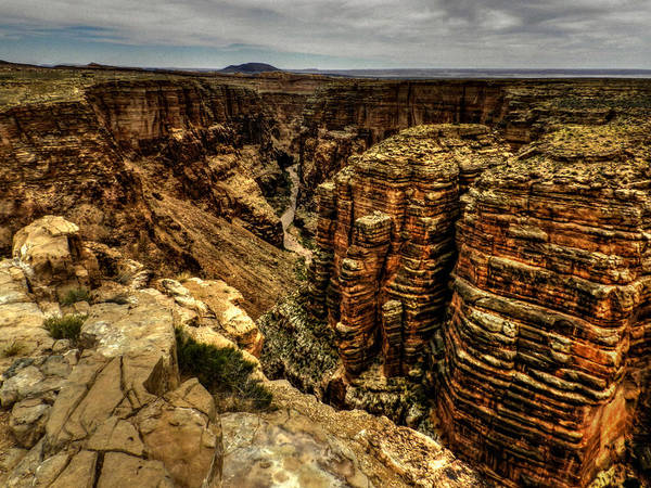 Photograph - Arizona - Little Colorado River Gorge 003 by Lance Vaughn