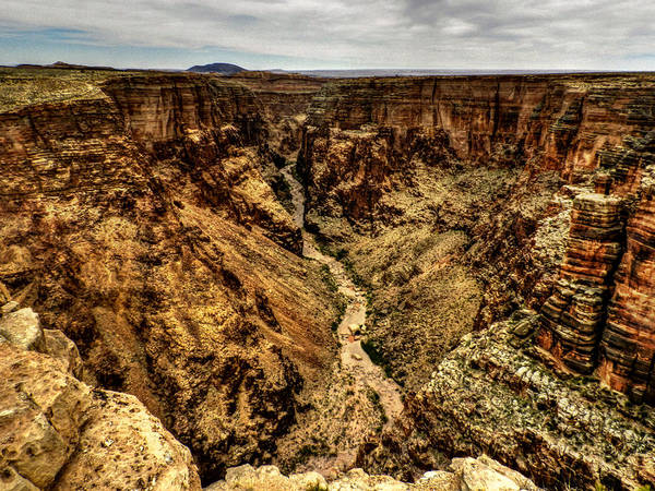 Photograph - Arizona - Little Colorado River Gorge 004 by Lance Vaughn