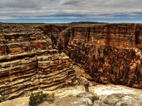 Photograph - Arizona - Little Colorado River Gorge 005 by Lance Vaughn