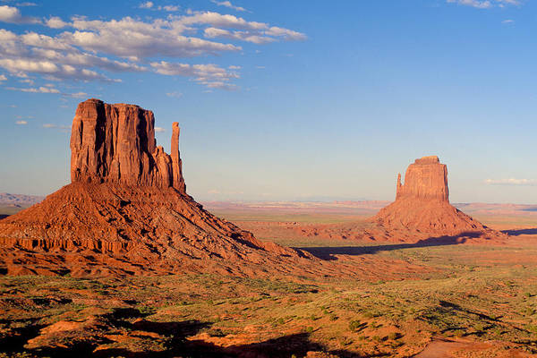 Eroded Wall Art - Photograph - Arizona Monument Valley by Anonymous