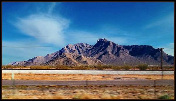 Paisaje Photograph - Arizona - On The Fly by Glenn McCarthy Art and Photography