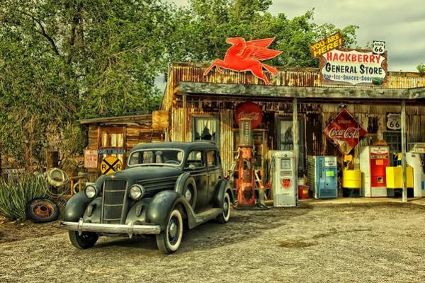 Photograph - Arizona Route 66 by Movie Poster Prints