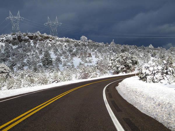Arizona Snow 2 Art Print