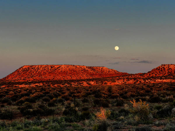 Photograph - Arizona Supermoon 002 by Lance Vaughn